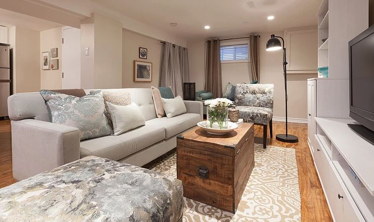 16 Beautiful Basements That Will Inspire You to Renovate Your Lower Level!
